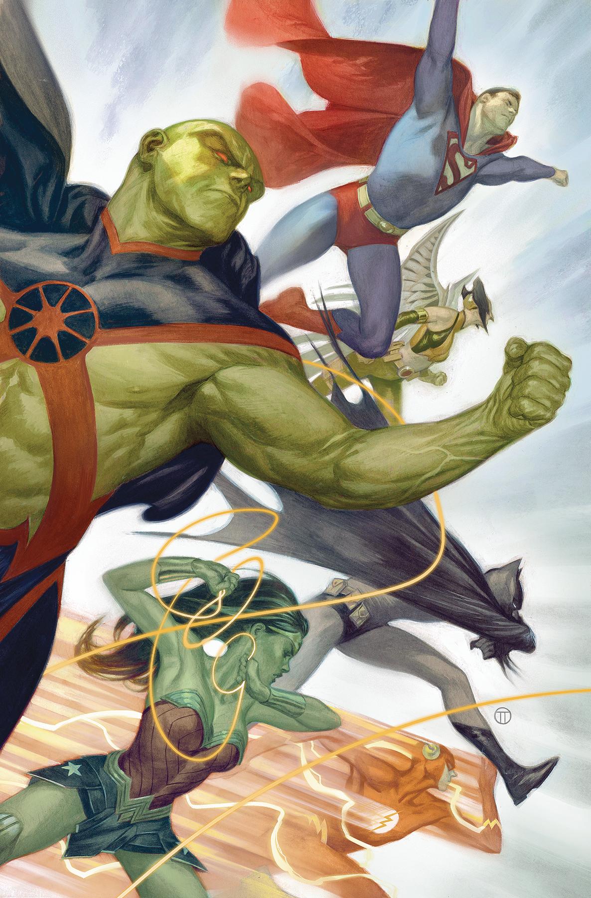 Justice League #31 Var Ed Yotv (STL130131) - Comics » Dc