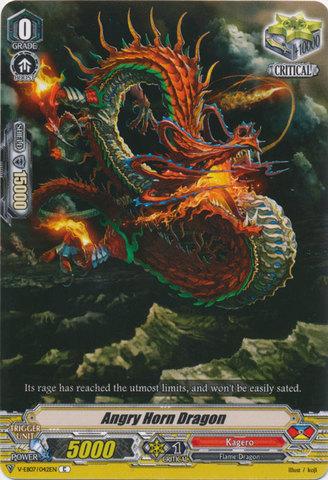 Angry Horn Dragon - V-EB07/042EN - C