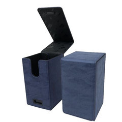 Ultra Pro - Alcove Tower Flip Box - Suede Collection: Sapphire