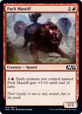 Pack Mastiff - Foil