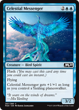 Celestial Messenger - Planeswalker Deck Exclusive