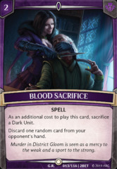 Blood Sacrifice - Foil on Channel Fireball