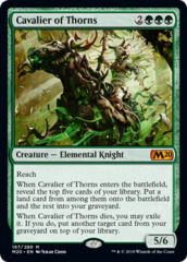 Cavalier of Thorns (M20)