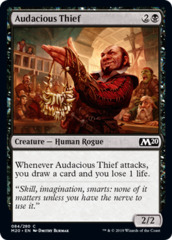 Audacious Thief - Foil on Channel Fireball