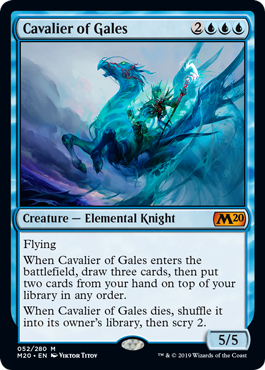 Cavalier of Gales - Foil