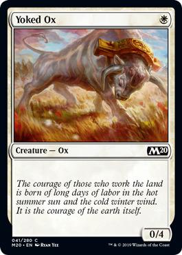 Yoked Ox - Foil