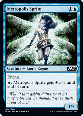 Metropolis Sprite - Foil