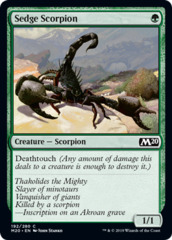 Sedge Scorpion - Foil