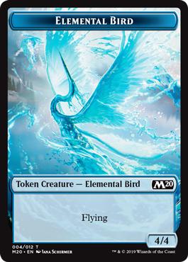 Elemental Bird Token