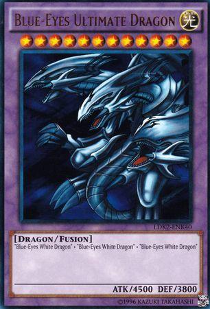 Blue-Eyes Ultimate Dragon - LDK2-ENK40 - Ultra Rare - Unlimited Edition