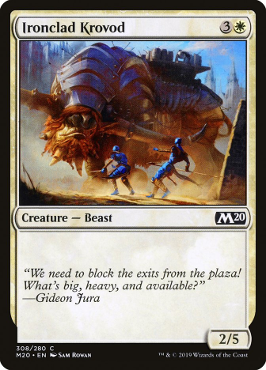 Ironclad Krovod - Welcome Deck Exclusive