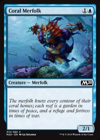 Coral Merfolk - Welcome Deck Exclusive