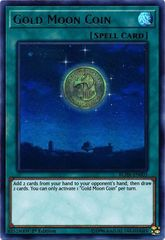 Gold Moon Coin - BLHR-EN003 - Ultra Rare - 1st Edition on Channel Fireball