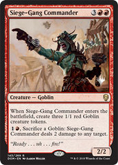 Siege-Gang Commander - Promo Pack