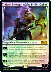 Ajani, Strength of the Pride - Promo Pack - Foil