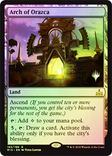 Arch of Orazca - Foil - Promo Pack