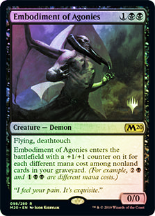 Embodiment of Agonies - Foil - Promo Pack