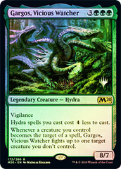 Gargos, Vicious Watcher - Foil - Promo Pack