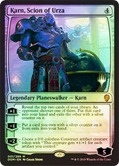 Karn, Scion of Urza - Promo Pack - Foil