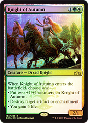 Knight of Autumn - Foil - Promo Pack
