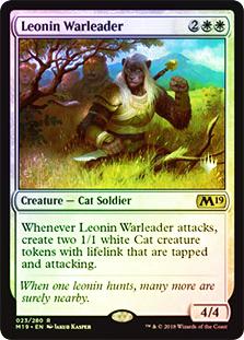 Leonin Warleader - Foil - Promo Pack