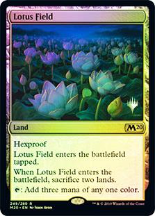 Lotus Field - Foil - Promo Pack