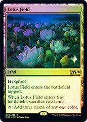 Lotus Field - Foil - Promo Pack