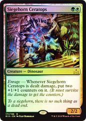 Siegehorn Ceratops - Foil - Promo Pack