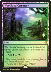 Woodland Cemetery - Foil - Promo Pack