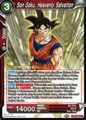 Son Goku, Heavenly Salvation - BT7-004 - C - Pre-release (Assault of the Saiyans)