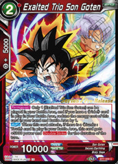 Exalted Trio Son Goten - BT7-009 - C - Pre-release (Assault of the Saiyans)