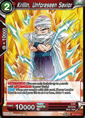 Krillin, Unforeseen Savior - BT7-013 - C - Pre-release (Assault of the Saiyans)