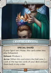 Cryptic Crystal on Channel Fireball