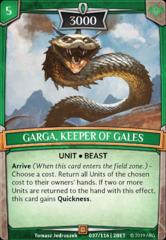 Garga, Keeper of Gales