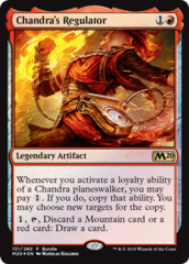 Chandra's Regulator - Core Set 2020 Bundle Promo