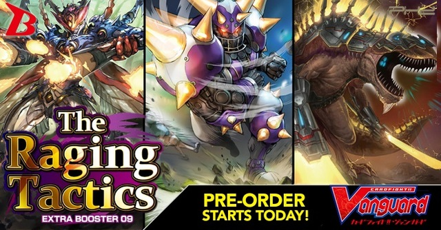 V Extra Booster 09: The Raging Tactics Booster Box