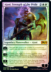 Ajani, Strength of the Pride - Foil - Prerelease Promo
