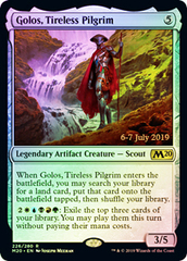Golos, Tireless Pilgrim - Foil - Prerelease Promo