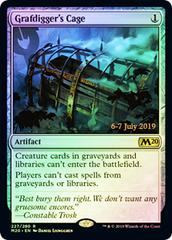 Grafdigger's Cage (Core Set 2020 Prerelease Foil)
