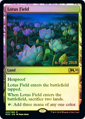 Lotus Field - Foil - Prerelease Promo