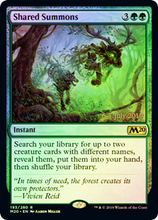 Shared Summons (M20 Prerelease Promo)