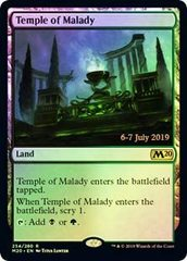 Temple of Malady - Foil - Core Set 2020 Prerelease Promo