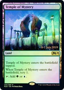 Temple of Mystery - Foil - Core Set 2020 Prerelease Promo
