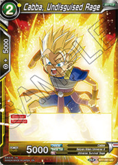 Cabba, Undisguised Rage - BT7-081 - UC