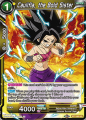 Caulifla, the Bold Sister - BT7-085 - UC - Foil