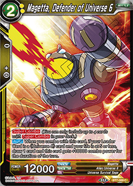 Magetta, Defender of Universe 6 - BT7-089 - C - Foil