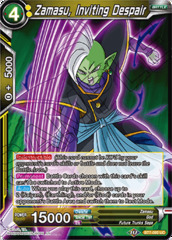 Zamasu, Inviting Despair - BT7-092 - UC - Foil
