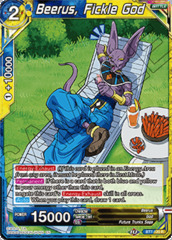 Beerus, Fickle God - BT7-120 - R on Channel Fireball
