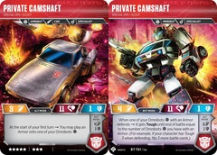 Private Camshaft - Special Ops Scout - 2019 SDCC Promo