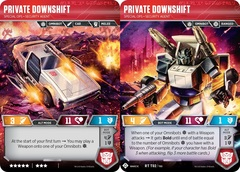 Private Downshift - Special Ops Security Agent - 2019 SDCC Promo
